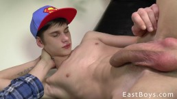 Skater Boy Gets Handjob