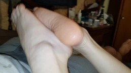2 Soft Feet. 1 Skilled woman