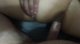 Wife loves her first time anal