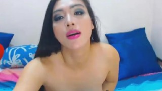 Horny faps babe tranny a passionate in play cock kink masturbating