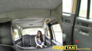 Enjoys his cabbie fuck fantasy faketaxi reality tits