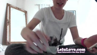 Lelu Love-WEBCAM: Twerking Old School Music Vibrator Orgasm