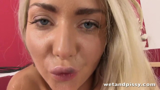 Blonde;Teen (18+);Small Tits;Pissing wetandpissy, orgasm, squirting, kink, adult-toys, pee, peeing, piss, pissing, solo, toys, dildo, masturbation, wet, squirt, euro