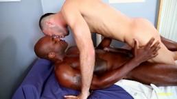 NextDoorEbony Brandon Jones and the Monster Black Cock
