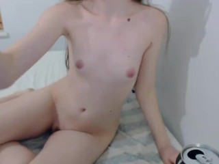 Hot Innocent Big Ass Teen Fuck With Her Glass Dildo (lolitasstar)