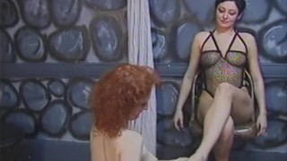 Of den journey a through slave the beautiful girls submission on embark shaved flogging