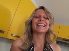 Real czech waitress fucks for money. Homemade video