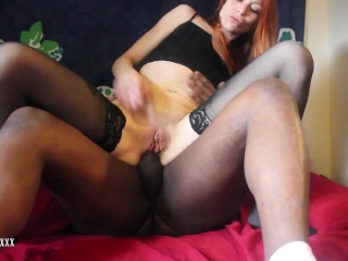 Interracial Ass Fuck, Suck, Buttplug, Fingering, Closeup, Gaping, POV, PIP
