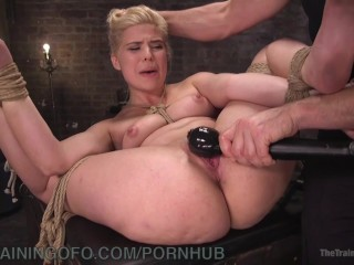Dildo Play Glattbarbert Fitte