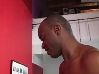 Black thug fucks college white guy