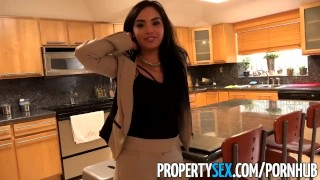 Like estate client hot her fucks real agent a latina propertysex pornstar dick pov
