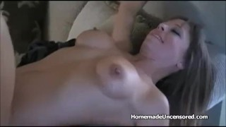 Hard drilled great gets amateur titty in homemadeuncensored