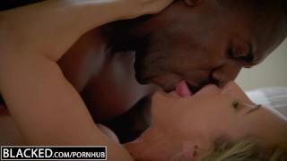 BLACKED Cheating MILF Brandi Love's First Big Black Cock Tight tape