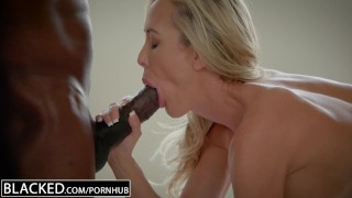 BLACKED Cheating MILF Brandi Love's First Big Black Cock Doggystyle blonde