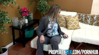 PropertySex - Best girlfriend ever gets all horny after selling house