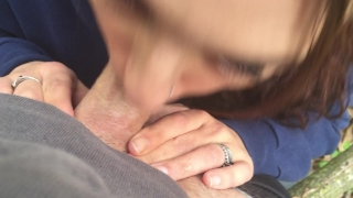 The finish a with fucking in woods cumshot amateur cumshot