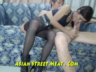 Asian wife cheating tube