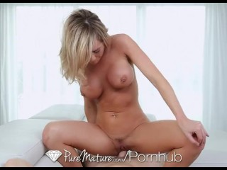 PureMature - Busty Milf Destiny Dixon loves hard cock