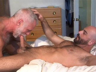 Muscle daddies allen silver and adam russo...