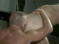 Beefy Bruce Mills Uses Daddy Jake Shores Hole