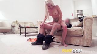 Fake pervert uniform fucks blonde in cop cop babes amateur
