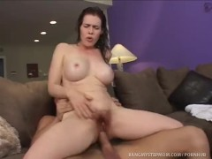 Lonely Mommy Gets Her Needs Met!