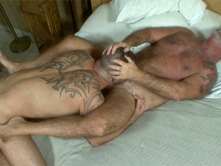 Daddy bears steve king and jake shores go...