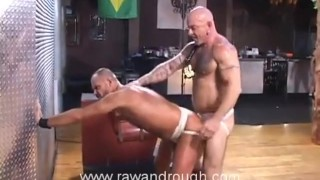 Jake gets flogged gets aaron fucked and breeding leather