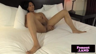 Asian cock jerks amateur transitioning femboy newbie transitioning