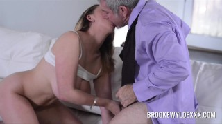 Hot Big Boob Blonde Works Out Better Deal WIth Sales Rep Tits brunette