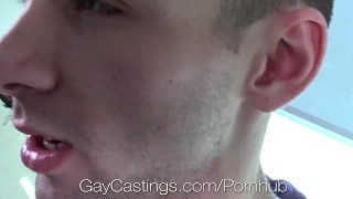 Audition twink on porn incredibly gaycastings fucked hairy sex hd