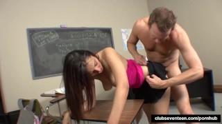 Her fuck professor schoolgirl beauty tits student