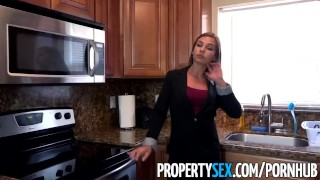 PropertySex - Wicked fine real estate agent bones her new sugar daddy