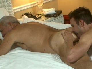 Daddy dick plays with smooth boy cameron...
