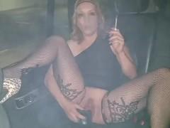 Blonde big porn video