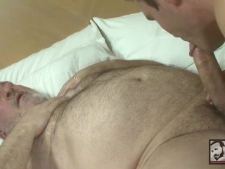 Big daddy luciano fucks with sexy smooth young...