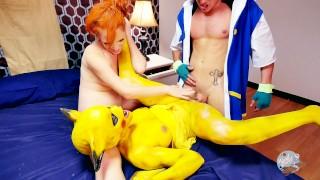 Screen Capture of Video Titled: Misty and Pikachu take on Ash's Pokeballs - Pokemon Parody