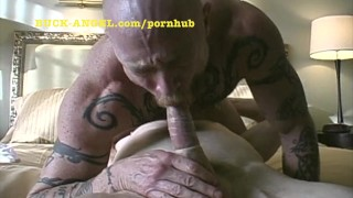 FTM Buck Angel gets his pussy fucked and sucked
