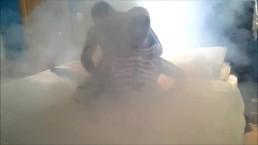 skeleton humps and gasses karate kid sketeton