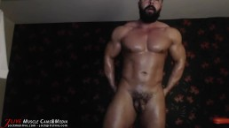 Oiling , Teasing ,Flexing, Ass Showing!