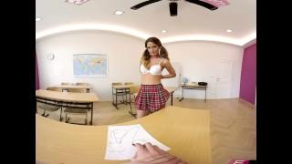 VR Bangers-360°VR Foreign exchange student FUCKED HARD on Teacher's Desk Virtual reverse