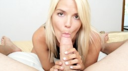 MILF Next Door: POV Blow Job & Facial