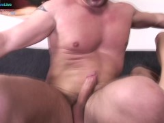 Linda Ray and David Perry anal creampie