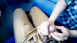 Preview 2 of Public deep Blowjob in the train!