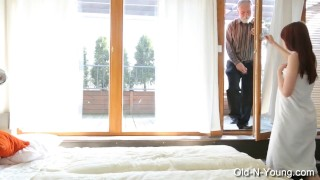 ESTELLE SIAM aka Licije - Teen & A Grandpa Blowjob amateur