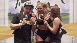 Clip VITALY ZD AT AVN 2016 WITH PHOENIX MARIE AND KARLA KUSH INTERVIEWS