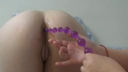 Anal Beads Masturbation