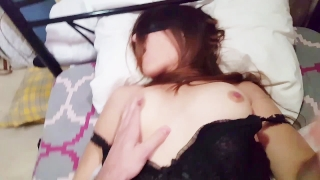Teen amateur couple homemade fucking and cumshot compilation on her face Big riding
