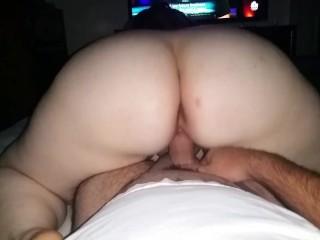 PAWG twerking on my Dick