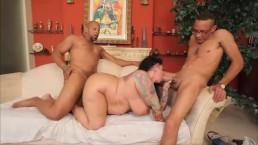 Big Booty BBW MILF gets DP'ed by Shane Diesel and Ramon XXX